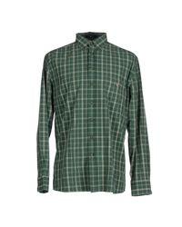 GANT | Green Shirt for Men | Lyst