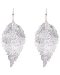 Aurelie Bidermann - Metallic Central Park Drop Earrings - Lyst