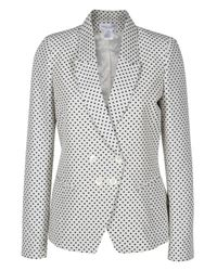 Paul & Joe - White Calva Polka-dot Twill Jacket - Lyst
