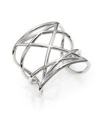 Marc By Marc Jacobs | Metallic Marjorie Cuff Bracelet | Lyst