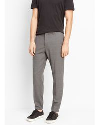 Vince - Gray Worsted Wool Urban Jogger for Men - Lyst