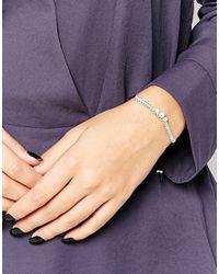 Estella Bartlett - Metallic Stardust Carded Friendship Bracelet - Lyst
