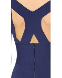 Narciso Rodriguez - Blue Sleeveless Dress - Lyst