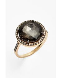 KALAN by Suzanne Kalan | Black Diamond & Stone Ring | Lyst