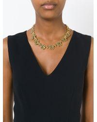 Nina Ricci | Metallic 'bouquet' Necklace | Lyst