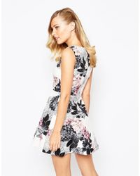 Keepsake - Multicolor Gone Girl Dress In Floral Print - Lyst
