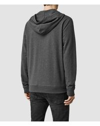 AllSaints | Gray Orate Hoody Usa Usa for Men | Lyst