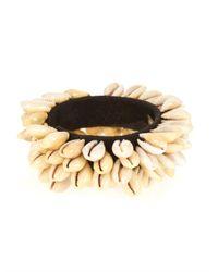 Isabel Marant | Black Wild It Embellished Shell Bracelet | Lyst
