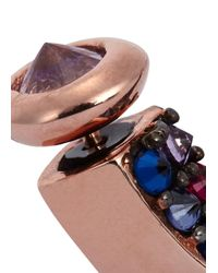 Katie Rowland | Pink Mini Talon 18Kt Rose Gold Vermeil Earrings | Lyst