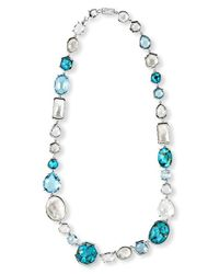 Ippolita | Blue 'rock Candy' Collar Necklace | Lyst