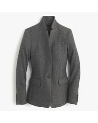 J.Crew | Gray Regent Blazer In Donegal Wool | Lyst