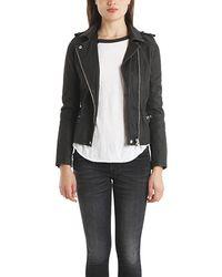 IRO | Black Jade Leather Jacket | Lyst