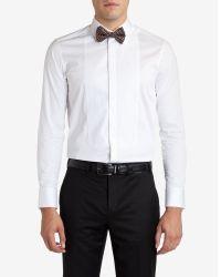 Ted Baker - White Formal Dinner Shirt for Men - Lyst