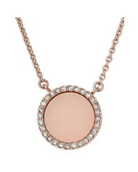 Michael Kors | Pink Blush Necklace | Lyst