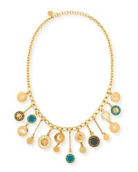 Marc By Marc Jacobs | Metallic Stardust Charm Necklace | Lyst
