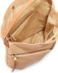 Christopher Kon - Natural Double Front-pocket Hobo Bag - Lyst