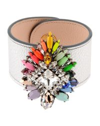 Shourouk - Metallic Bracelet - Lyst