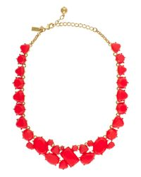 kate spade new york | Red Color Pop Necklace | Lyst