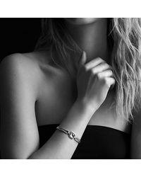 David Yurman | Pink Albion Bracelet With 18k Rose Gold And Diamonds | Lyst