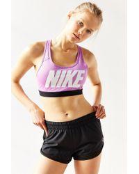 Nike | Purple Pro Classic Sports Bra | Lyst