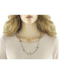 John Hardy - Metallic Dot Station Sautoir Necklace - Lyst