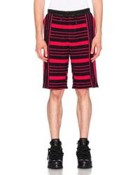 Alexander Wang | Engineered Stripe Boucle Boardshorts | Lyst