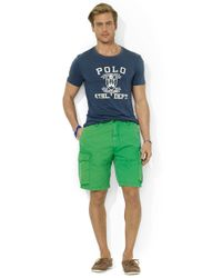 Polo Ralph Lauren | Green Relaxed-Fit Corporal Cargo Shorts for Men | Lyst