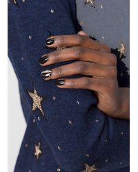 & Other Stories | Black Two Tone Nail Ring | Lyst