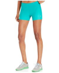 Roxy | Blue Spike Compression Shorts | Lyst