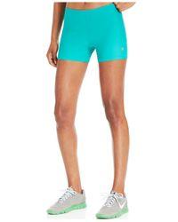 Roxy - Blue Spike Compression Shorts - Lyst