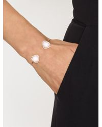 Kimberly Mcdonald - Metallic Diamond Pavé Opal Bangle - Lyst