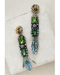 Anthropologie | Green Fantasque Drops | Lyst
