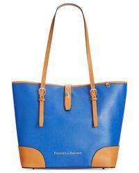 Dooney & Bourke | Blue Claremont Dover Tote | Lyst