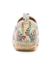Marc By Marc Jacobs - Natural Garden Print Espadrille Flats - Lyst