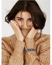 BaubleBar | Blue Cabochon Link Bracelet | Lyst
