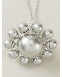 Vivienne Westwood Anglomania | Metallic Orb Pendant Necklace | Lyst