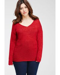 Forever 21 | Textured Slub Knit Top | Lyst
