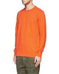 Paul Smith - Orange Cube Print Sweatshirt for Men - Lyst