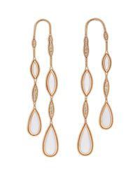 Fernando Jorge - Metallic Women's Fluid Colors doubled Drop Earrings - Lyst