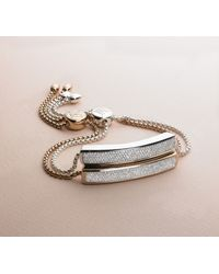 Monica Vinader | Metallic Baja Diamond Bracelet | Lyst