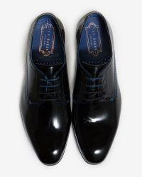 Ted Baker | Black Formal Derby Shoe for Men | Lyst