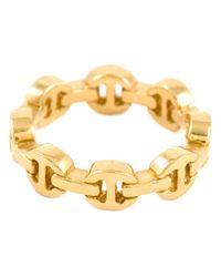 Hoorsenbuhs | Metallic 'dame' Classic Tri-link Ring | Lyst