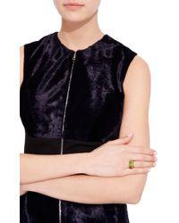 Sharon Khazzam - Green Peridot Rope Ring - Lyst