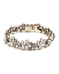 Ben-Amun | Metallic Crystal Vine Bracelet | Lyst