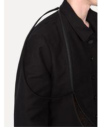 Ann Demeulemeester - Black Jacket Basile for Men - Lyst