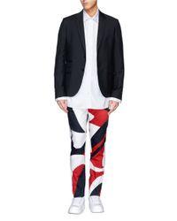 Alexander McQueen - Multicolor Abstract Print Cotton Pants for Men - Lyst