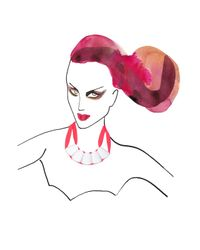 Marion Vidal - Pink Fluro Ceramic Necklace - Lyst