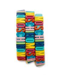 Moschino | Bracelet - Blue | Lyst
