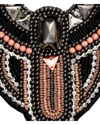 H&M - Pink Beaded Necklace - Lyst