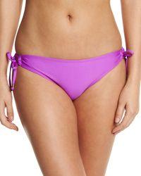 Ella Moss | Purple Stella Tie-side Swim Bottom | Lyst